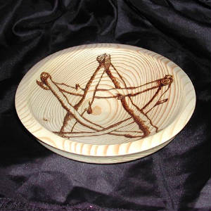Pentagram plate side